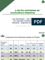 Dimenstein Manejo Nutrientes en Horticultura Intensiva