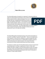 DoD Patient Safety Program - Clinical Microsystems