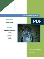 Manual Seguidor de Linea