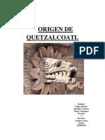 Oriegen de Quetzalcoatl
