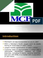 information system of mcb