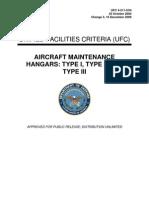Aircraft Maintenance Hangars
