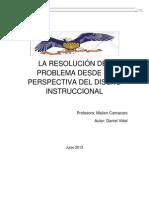 LA RESOLUCIÓN DEL PROBLEMA DESDE LA PERSPECTIVA DEL DISEÑO INSTRUCCIONAL123