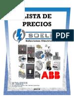 SOELEC Lista de Precios 2013 02