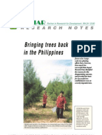 Bringing Trees Back in the Philippines