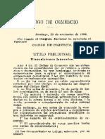 Código de Comercio de la República de Chile (1865)