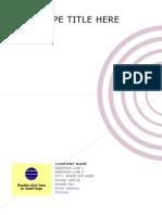Concentric Mauve Report