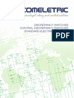 Discrepancy Switches - Control Discrepancy Switches Standard Electrical Diagrams