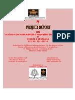 Vishal Kushwaha Project Mba 2012