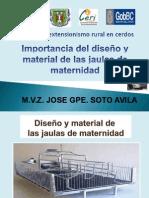 2.- Extensionismo Importancia de Uso de Jaulas de Parto