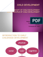 2) Basic Concept and Principle of Child Dev
