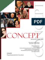 Revista Concept Nr. 6