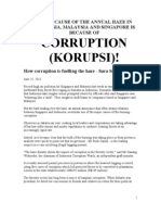 How CORRUPTION (KORUPSI) is fuelling the haze