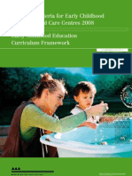 2008 Licensing Criteria For Early Childhood Education And Care Centres Booklet1