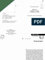 BOUVERESSE, Jacques Bouveresse, Jean-Jacques Rosat Essais  Lépoque, la mode, la morale, la satire  2001