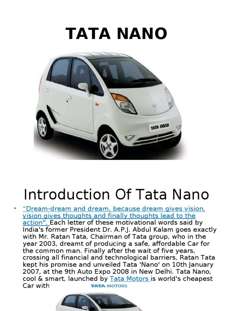 case study of tata nano singur