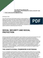 social security in botswana