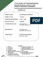 Course Plan EG 2012- 2013