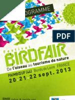 2e Festival Birdfair - Programme