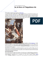 Saint Augustin, la force et l'impatience du converti