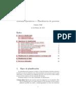 Planificacion de Procesos Sistemas Operativos