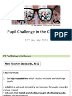 pupil challenge in the classroom