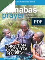 Prayer Diary July/August 2013