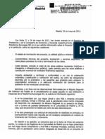 Eurovegas_Respuesta Consejería de Economía y Hacienda_CM