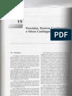 Provisões, passivos contigentes e ativos contingentes