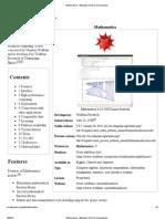Mathematica Software