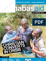 Barnabas Aid July/August 2013