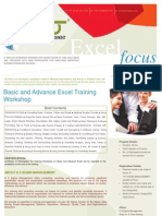 Excel Focus for Institutions