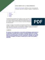 Elementos Del Grupo 14 de La Tabla Periodica