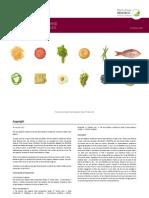 Food Data Manual