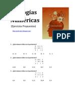 analogias numericas