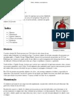 Extintor – Wikipédia, a enciclopédia livre