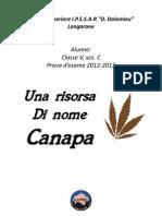 Una risorsa di nome canapa