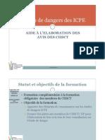 Etudes de Dangers Des ICPE