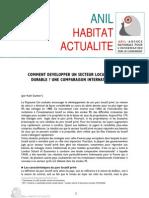 Comment développer un secteur locatif privé durable - une comparaison internationale - http://www.metrecarre.ma
