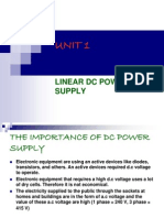 UNIT 1-DC Power Supply