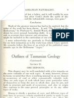 TasNat 1927 Vol2 No3 Pp9-14 Lewis OutlinesGeology