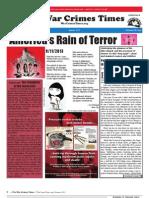 War Crimes Times -- Summer 2013 Vol. V No. 3