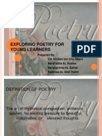 Exploring Poetry for Young Learners