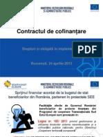 Contractul de Cofinantare
