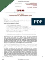 Participatory Rural Communication Appraisal