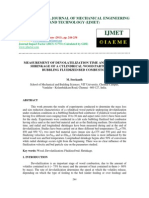 Measurement of Devolatilization Time and Transient Shrinkage of a Cylind