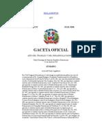 Ley No. 498, que crea la Corporación del Acueducto y Alcantarillado de Santo Domingo (CAASD)