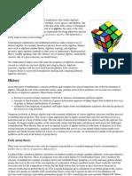 Abstract Algebra - Wikipedia, The Free Encyclopedia