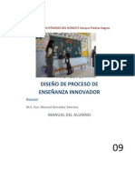Aprendizaje Basado en Proyectos - Manuel Gonzalez