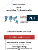 Case01_Global Business Leader